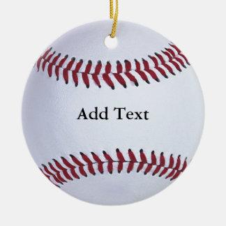 Baseballsportar Julgransprydnad Keramik