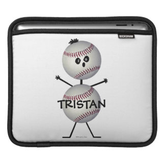 Baseballtecknad iPad Sleeve