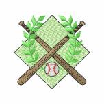 Baseballvapensköld Broderade Tröjor Med Luva