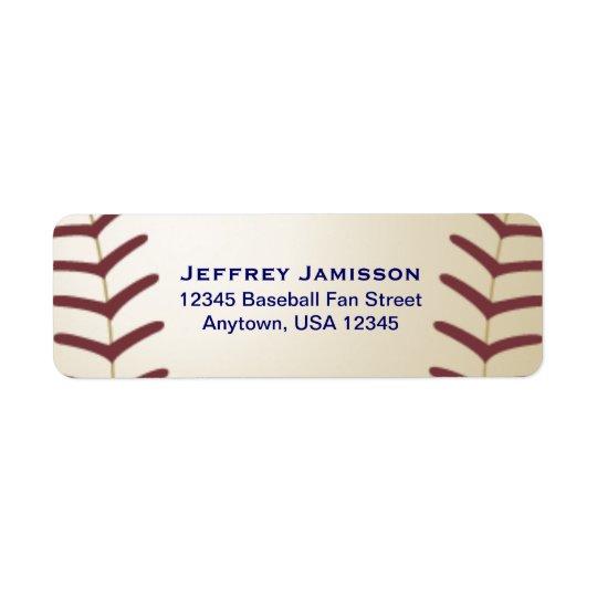 Basebollspelare, fläktnamn och adressetikett