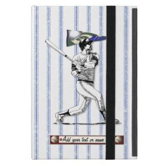 Basebollspelare och standert iPad mini skydd