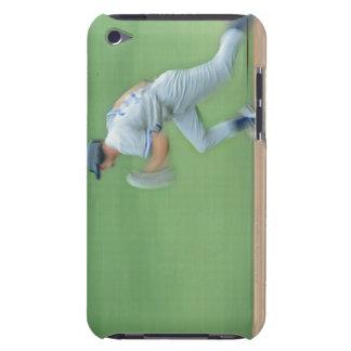 Basebollspelarespring som ska baseras iPod touch fodraler