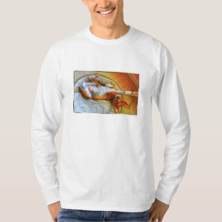 Basenji fräknebuk t-shirt