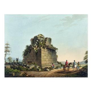Basera av en kolossal kolonn nära Syracuse, Vykort