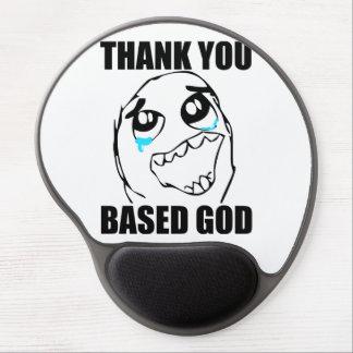 Baserad gud för tack gelé musmatta
