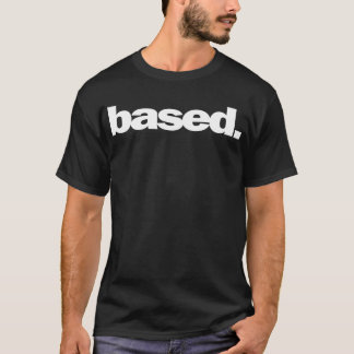 Baserad musik t shirt