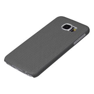 Baserar Nano kolfiber för svarten och för grå färg Galaxy S5 Fodral