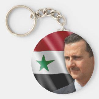 Bashar al-Assad بشارالاسد Rund Nyckelring