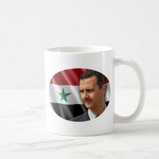 Bashar al-Assad بشارالاسد Vit Mugg