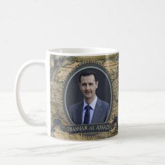 Bashar AlAssad historisk mugg