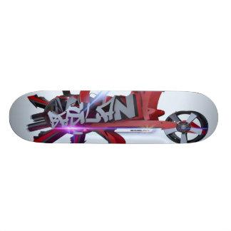 Basilan Scateboard Skateboard Bräda 19,5 Cm