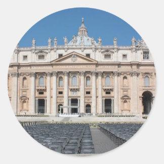 Basilica di San Pietro, Vatican City, Rome, Runt Klistermärke