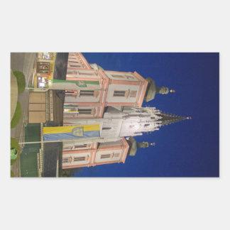 Basilica i Mariazell Rektangulärt Klistermärke