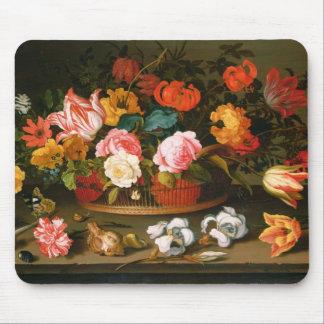 Basket av blommor, 1625 musmatta