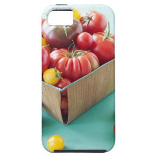 Basket av Heirloomtomater iPhone 5 Case-Mate Cases