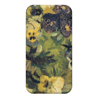Basket av Pansies, Vincent Van Gogh iPhone 4 Fodraler