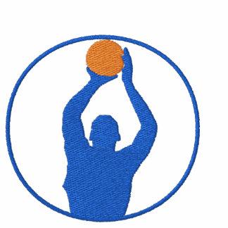 Basket broderad T-tröja