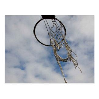 Basket i himmelvykortet vykort