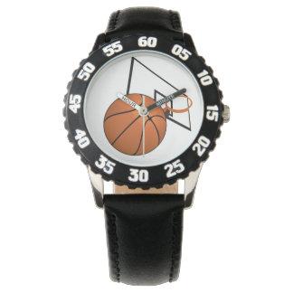 Basket och ring armbandsur