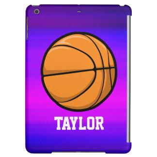 Basket; Vibrerande violetta blått och magenta