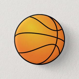 Basketboll knäppas mini knapp rund 3.2 cm