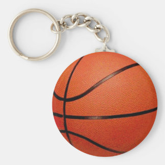 Basketboll Rund Nyckelring