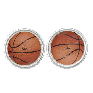 Basketdesignmanschettknappar Manschettknappar