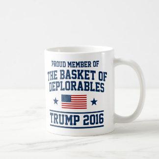 Basketen av Deplorables trumf Kaffemugg