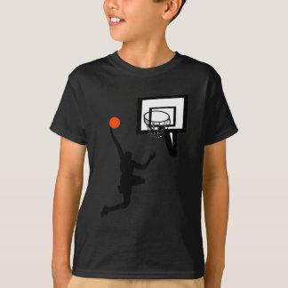 Basketfigur som gör en Layup T-shirt