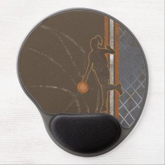 Basketflickan görar randig gelen Mousepads