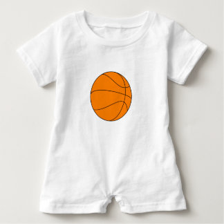 BasketJersey Romper T Shirt