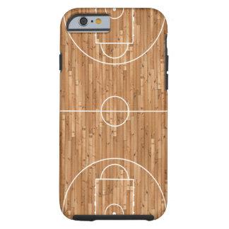 Basketrättsfall täcker tough iPhone 6 fodral