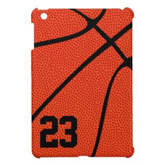 Basketspelare eller lagledaren Jersey numrerar iPad Mini Fodral