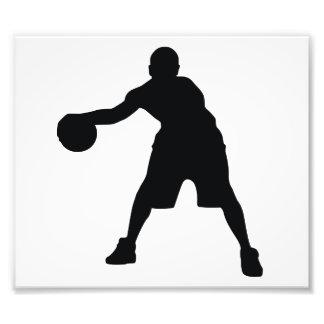Basketspelare Fotokonst