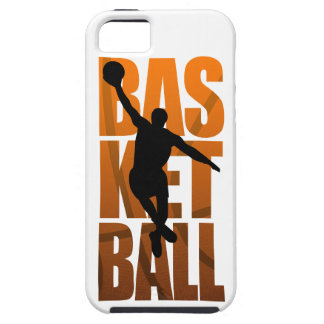 BasketspelareBasketballer banhoppning iPhone 5 Case-Mate Skal