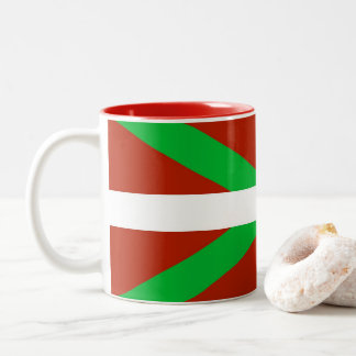 Baskisk mugg för flaggaIkurrina kaffe
