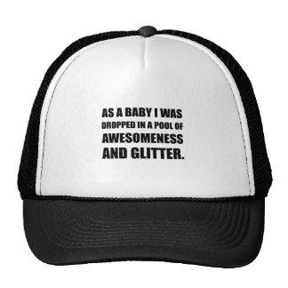 BassängAwesomeness glitter Keps