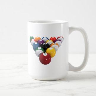 Bassängbollar/biljard: 3D modellerar: Kaffemugg