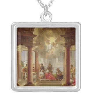 Bassängen av Bethesda, 1645 Silverpläterat Halsband