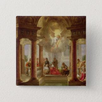 Bassängen av Bethesda, 1645 Standard Kanpp Fyrkantig 5.1 Cm