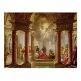 Bassängen av Bethesda, 1645 Vykort