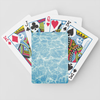 Bassängvatten, bassäng, simma, sommar spelkort