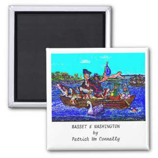 BASSET- & WASHINGTON magnet