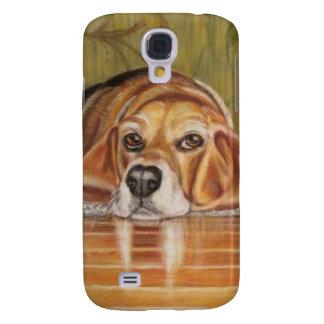 Bassethund: Tate Galaxy S4 Fodral