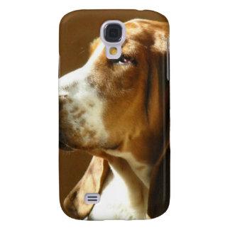 Bassethundfoto Galaxy S4 Fodral