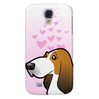 Bassethundkärlek Galaxy S4 Fodral