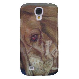 Bassetthund Galaxy S4 Fodral