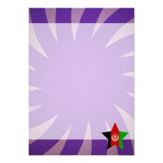 Bäst Afghanistan flaggadesign 12,7 X 17,8 Cm Inbjudningskort