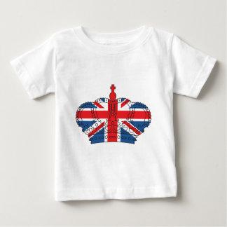 Bäst av britten, krona, facklig jack tee shirts