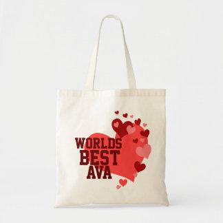 Bäst Ava för världar personlig Budget Tygkasse